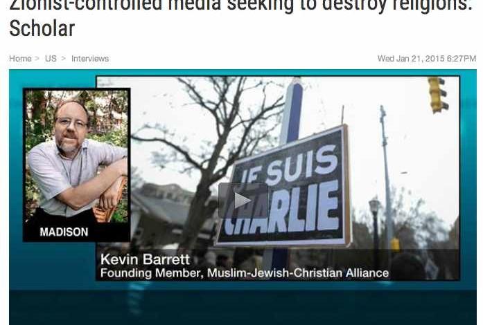 Zionist-controlled media seeking to destroy religions: Scholar