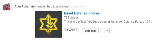 Alan Rubenstein subscribed to IDF