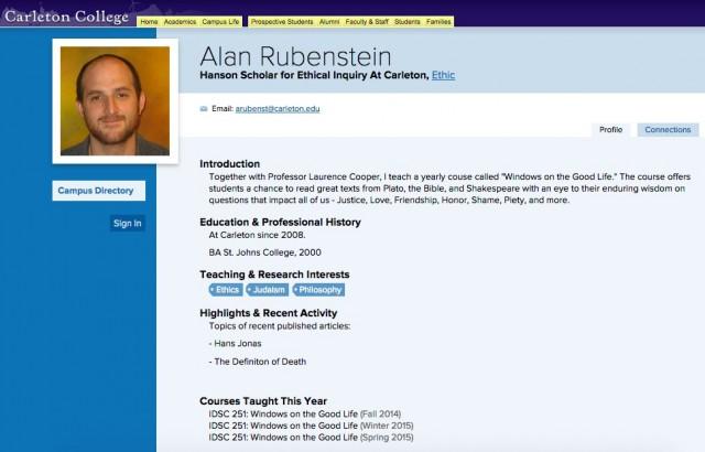 Alan Rubenstein, a bigot's bigot in Northfield, MN