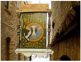 The Cow Sign