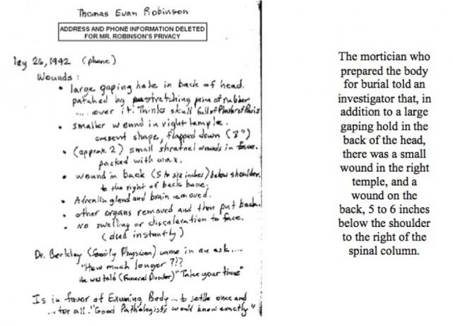 Thomas Evan Robinson's summary
