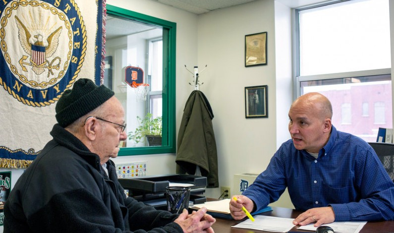 Without Help, Navigating Benefits Can Be Overwhelming For Veterans