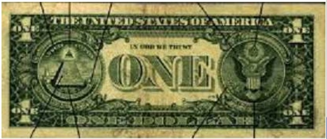 (8) The back of the dollar bill
