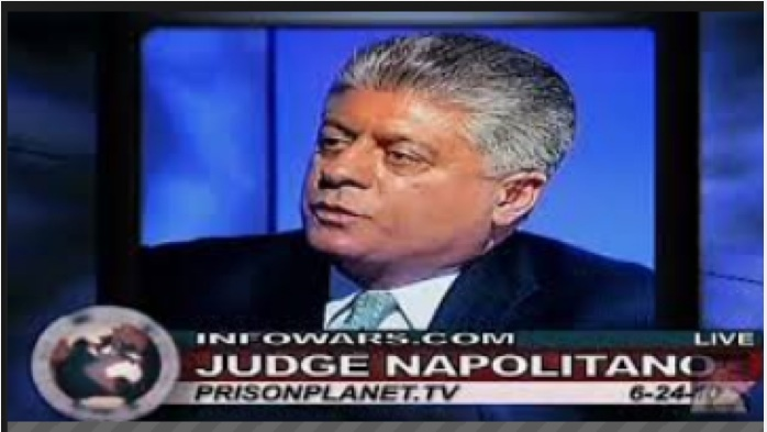 Alex interviews Judge Napolitano