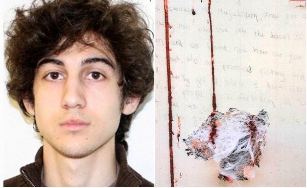 Dzhokhar Tsarnaev's confession