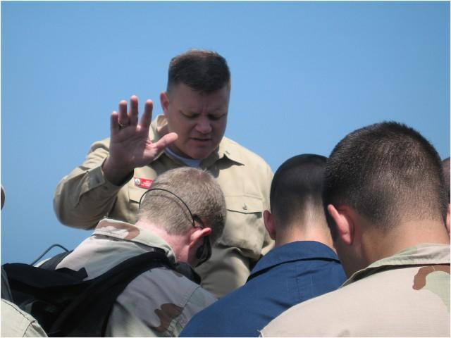 Lt.Cmdr. Wesley Modder, USN