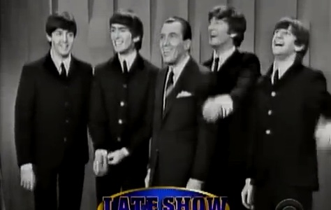 Old clip of Beatles on Ed Sullivan