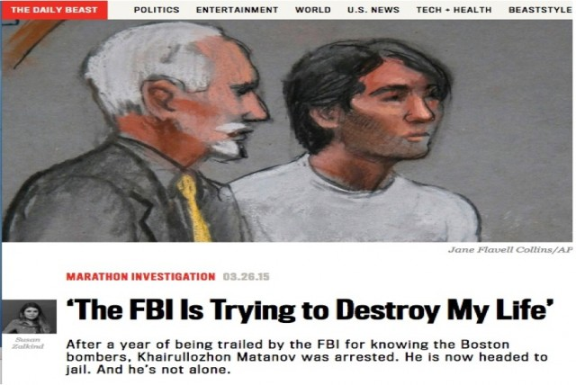 The FBI is destroying my life