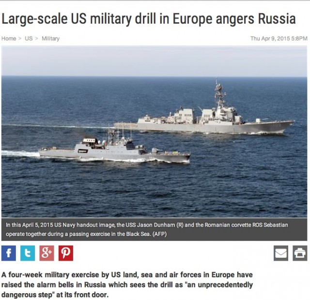 US military drill in Europe angers Russia