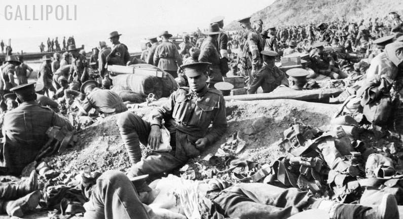 The Allies at Gallipoli