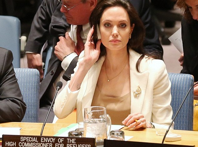 Angelina Jolie, Please! Not Now!