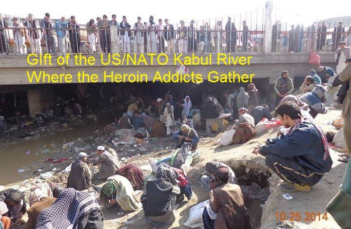Afghan and American people want peace but war profiteers drug traffickers do not