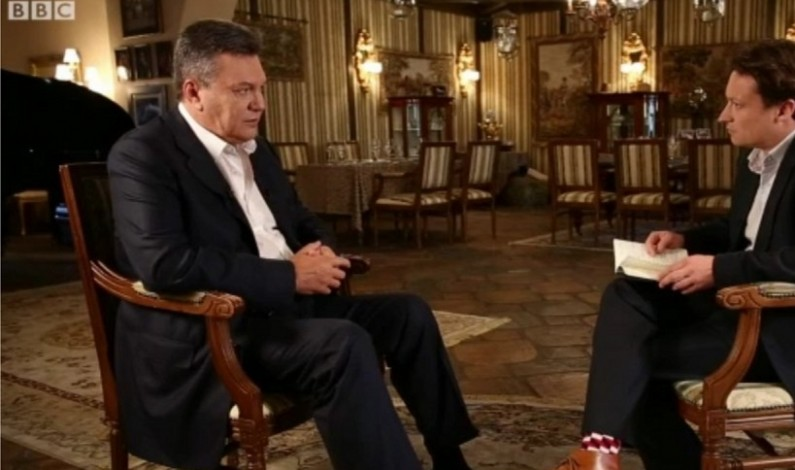 Lost in Translation or What BBC Cut From Their Yanukovych Interview