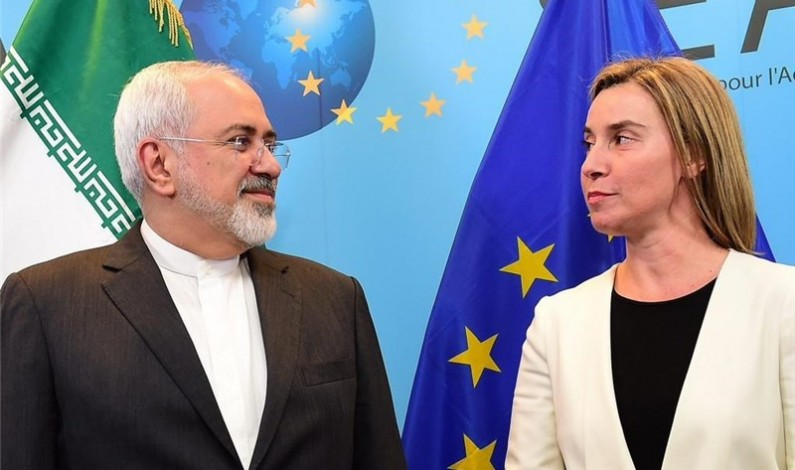 EU Foreign Minister Mogherini, Zarif Hold Press Conference in Tehran