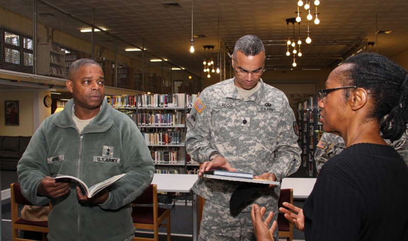 Army MWR libraries, available to Retired Soldiers online