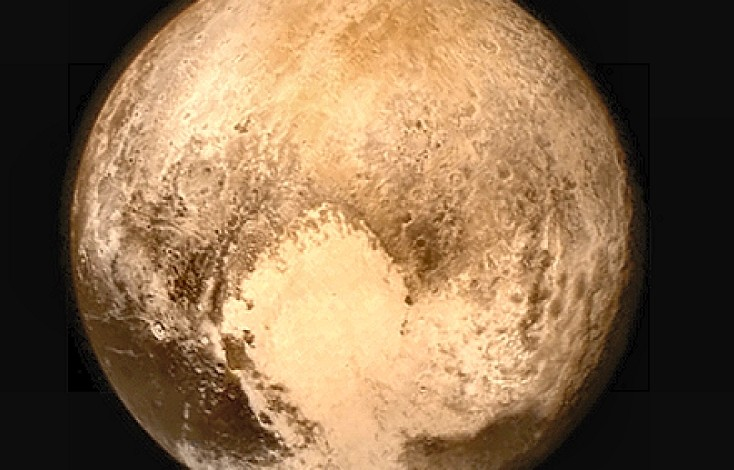 NASA, Latest Shot of Pluto Before Fly By
