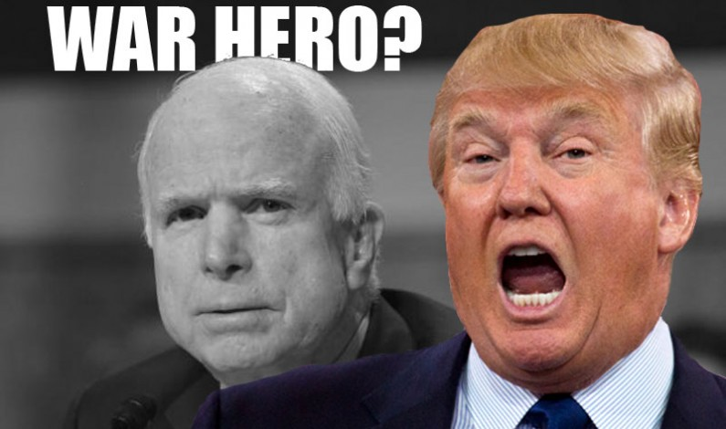 Trump Opens McCains Treasonous Can of Worms