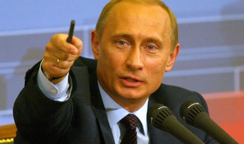 Putin nails West for using terrorism as regime change tool