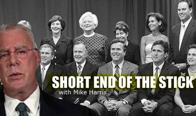 The Short End Of The Stick with Mike Harris – 24th August 2015