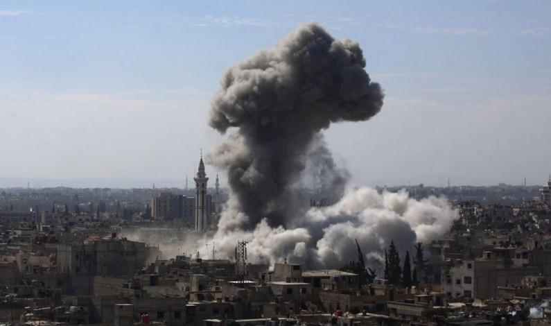Israeli bombing of Syrian Sites was in coordination with the militants and Turkey