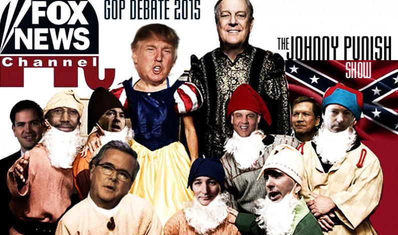 Johnny Punish Show:  Trump & the Nine Dwarfs – GOP Pre-Debate Special