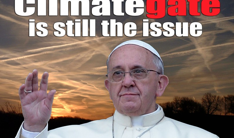 Climategate Still The Issue as Carbon Pope Lauds Corrupt Climate Science