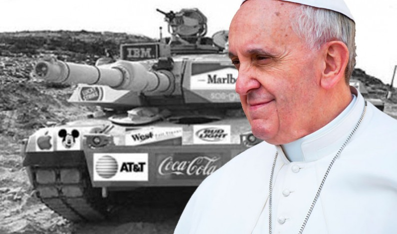 Pope Tells Worlds Top Arms Dealers to End Arms Trade