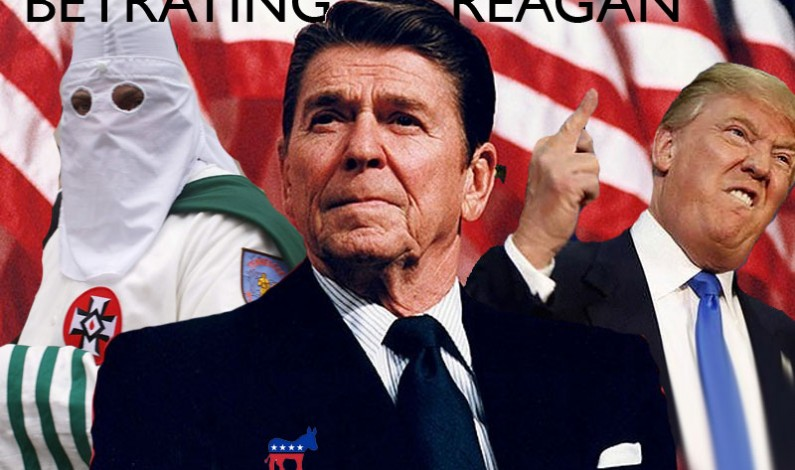 Former US President Ronald Reagan Formally Announces Switch to Democratic Party