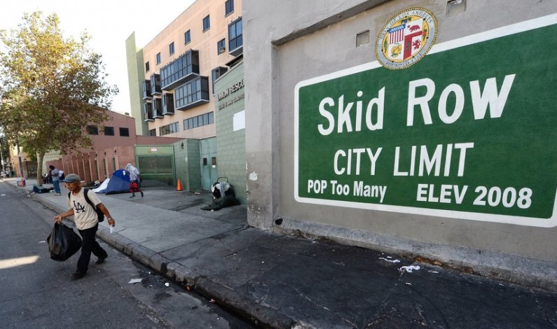 Humanitarian Relief for Skid Row Homeless Veterans