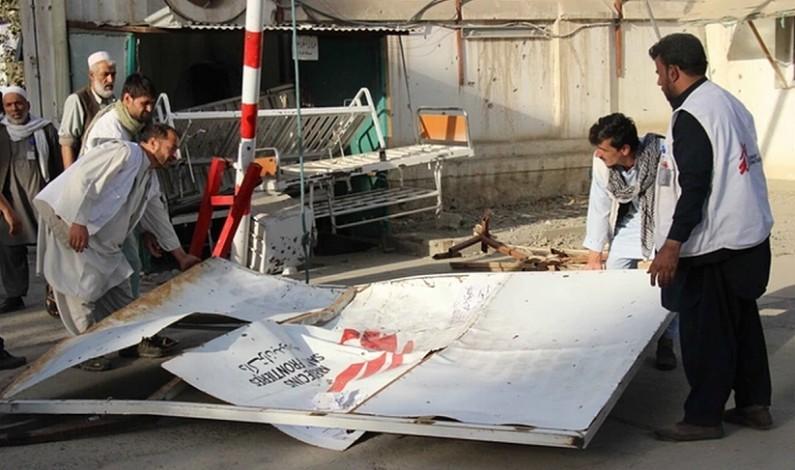 US tank enters ruined Afghan hospital putting 'war crime' evidence at risk