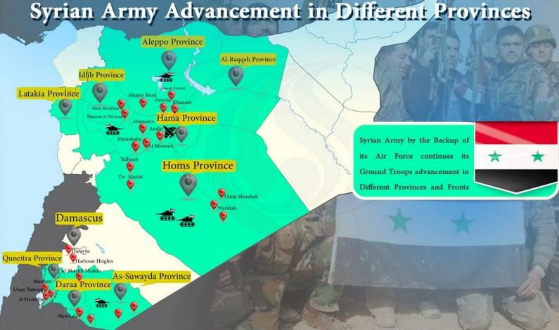 War News:  Syrian Army, Hezbollah Win Back Jisr Al-Shughour in Idlib