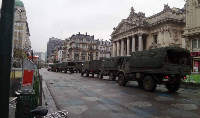 False flag terror madness! Brussels, Paris under martial law