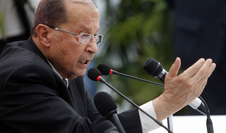 Lebanon needs Hezbollah to defend borders: Michel Aoun
