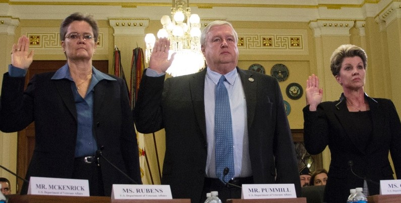 VA officials Rubens, Graves demoted to general worker status