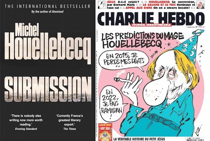 """Michel Houellebecq's """"Submission"""" unveils false flag terror"""