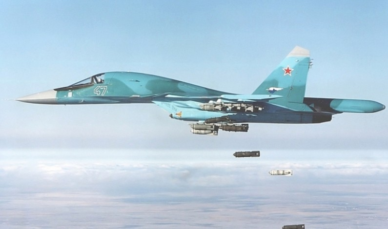 Russia Forced to Arm SU 34 Bombers in Syria for Air Combat