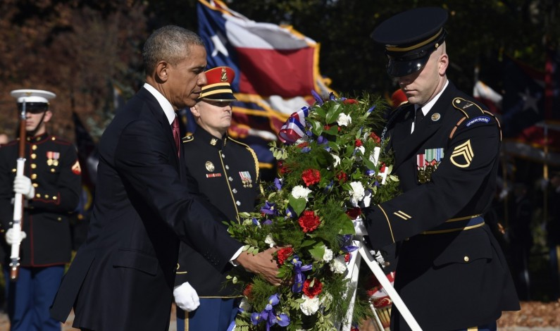 Obama's Veterans Day message focuses on jobs