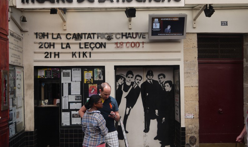 Théâtre de la Huchette has been showing 2 Plays by Ionesco for over 56 Years