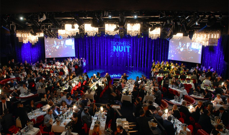 The Trophies of the Night 2015  at Le Lido Paris, France