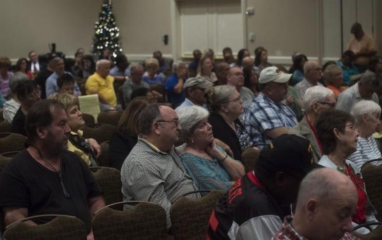 Veterans express frustration to VA over Camp Lejeune benefits