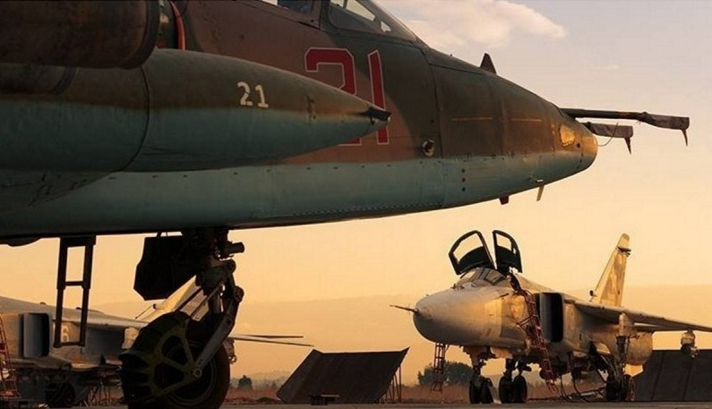 Russian Warplanes Hit 556 Terrorist Targets in Syria Over Past 3 Days