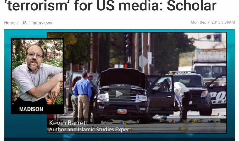 BUSTED!  San Bernadino shooters were three white men dressed in military attire