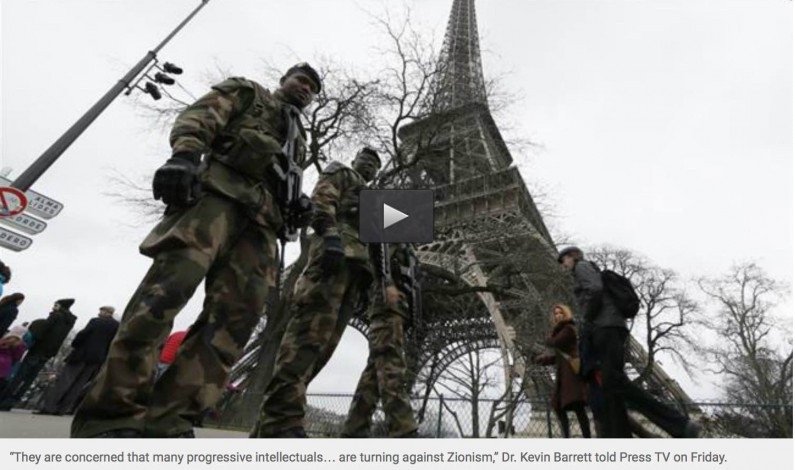 Press TV: Why Paris was hit twice in 2015 – a year of false flags