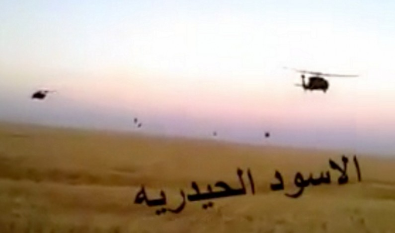 Busted!  US Helicopters Aiding ISIS in Iraq