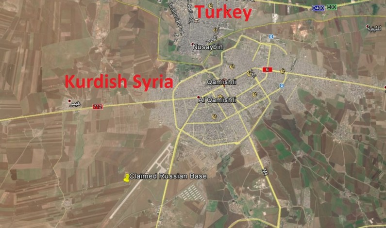 Russia accuses Turkey of Syria border buildup