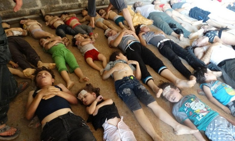Report: US Staged Gouta Sarin Attack