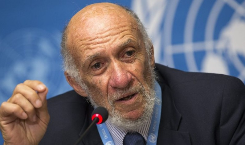 Falk reprimands Ban Ki-Moon over truth about Israel's crimes