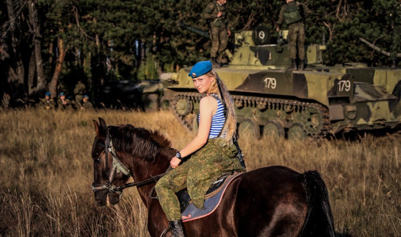 Women of Russia's Special Operations Forces