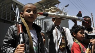 The Saudis even have children fighting them in Yemen, who will fight them forever
