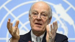 The UN's de Mistura has had a really tough job with controlling the terrorist supporters
